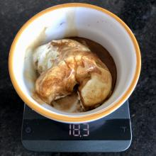 Affogato tip: less is more, use a ristretto